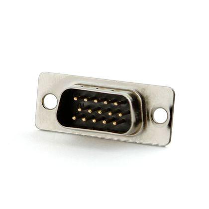 Conector HD 15 Pinos para Solda Macho