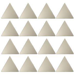 Confetti Triangles Adorno Parede C/16 Ouro