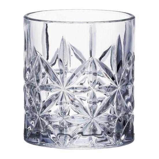 Conjunto 6 Copos de Vidro Sodo-Cálcico para Whisky Stella 300ml