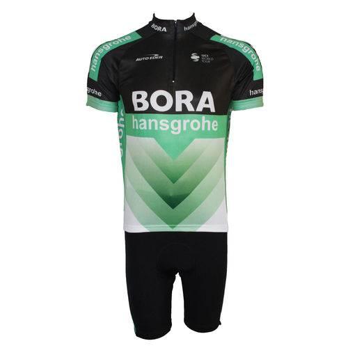 Conjunto Bermuda e Camisa Pro Tour Bora 2018