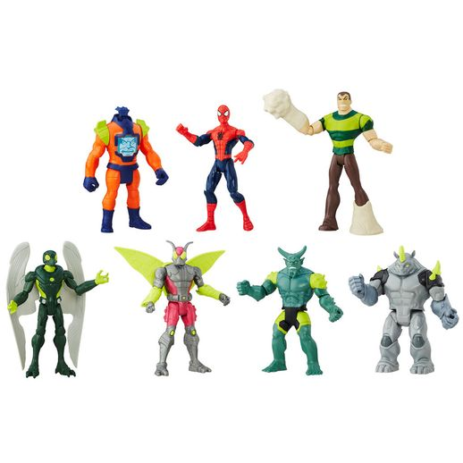 Conjunto Boneco Homem Aranha com Personagens - Hasbro Conjunto Boneco Homem Aranha com Personagens - Hasbro