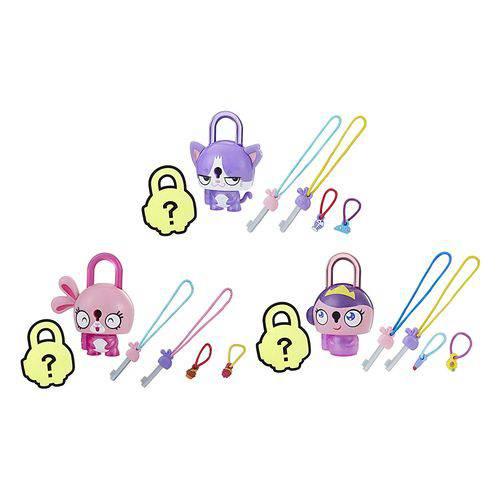 Conjunto Cadeado Lock Stars Série 1 - Hasbro