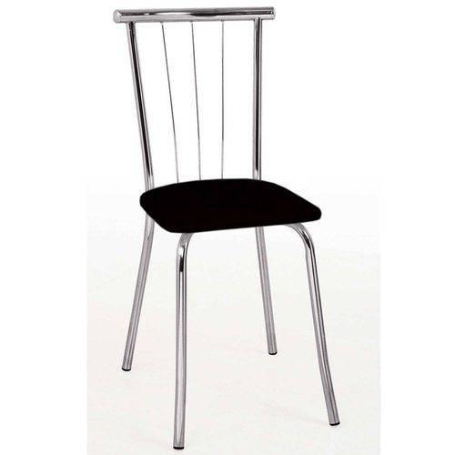 Conjunto 2 Cadeiras 154 Carraro Preto