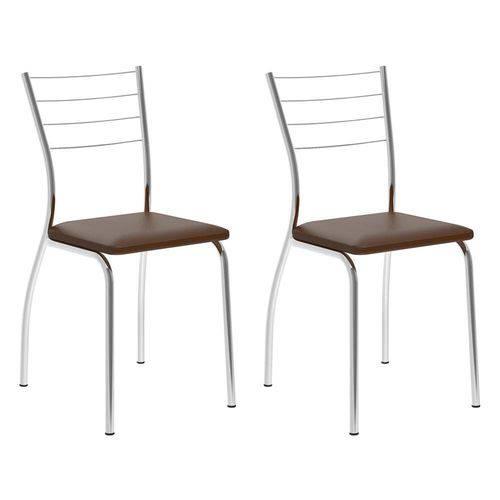 Conjunto 2 Cadeiras 1700 Cacau