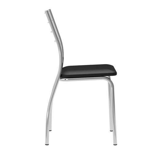 Conjunto 2 Cadeiras 1700 Preta