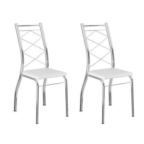 Conjunto 2 Cadeiras 1710 Branca
