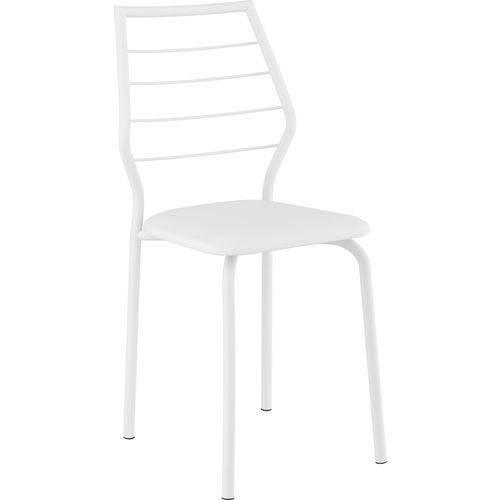 Conjunto 2 Cadeiras 1716 Napa Móveis Carraro Branco