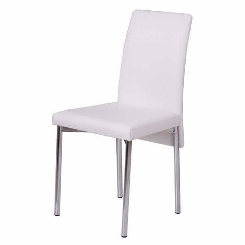 Conjunto 2 Cadeiras Don Gabriel Carraro Couro Branco