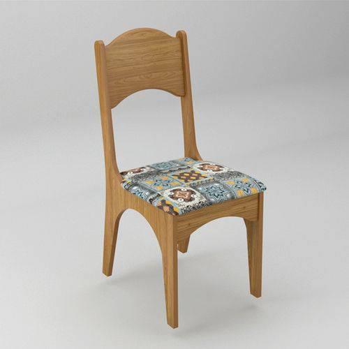 Conjunto 2 Cadeiras Estofada 100% MDF CA18 - Dalla Costa
