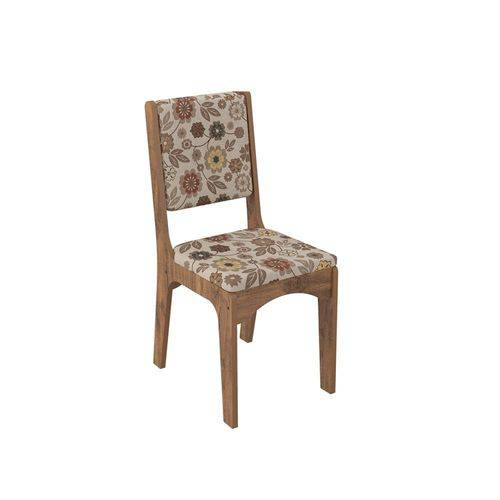 Conjunto 2 Cadeiras Estofada 100% Mdf Ca19 - Dalla Costa