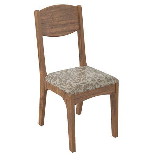 Conjunto 2 Cadeiras Estofada Milano Ca12 2 100% Mdf - Dalla Costa