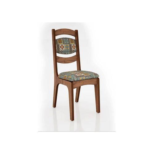 Conjunto 2 Cadeiras Estofadas 100% MDF CA27 - Dalla Costa