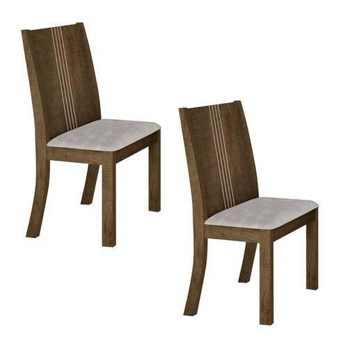 Conjunto 2 Cadeiras Estofadas Vitória Ype - Leifer