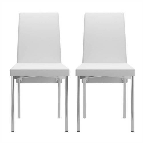Conjunto 2 Cadeiras para Sala de Jantar 0306 Móveis Carraro