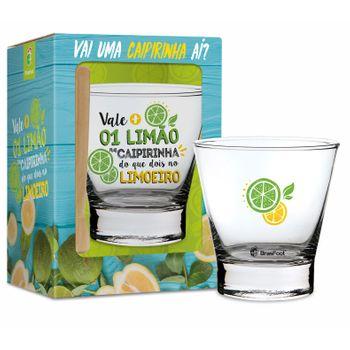 Conjunto Caipirinha Copo+socador - Mais Vale 1 Limão