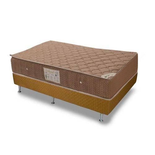 Conjunto Cama Box - Colchão Ortobom Molas Nanolastic Orthotel + Cama Box Orthotel - Solteiro 88x188