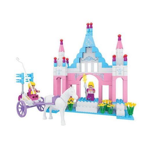 Conjunto Castelo da Princesa 245 Peças Click It Cl-Re02 Play Cis