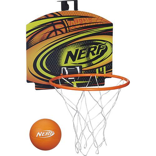 Conjunto Cesta de Basquete Nerf Energy Laranja - Hasbro