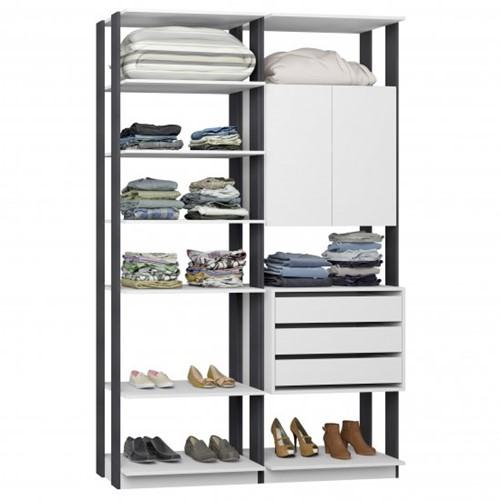 Conjunto Closet da Linha Clothes 9011 - BE Mobiliário Inteligente   Elare