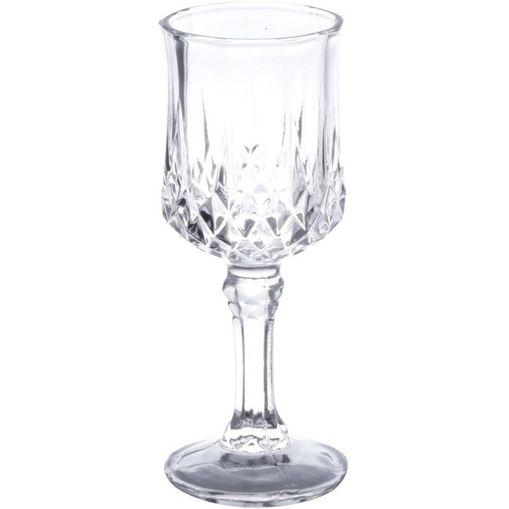 Conjunto com 6 Taças de Vidro para Licor 60ml Diamante 6551 Lyor