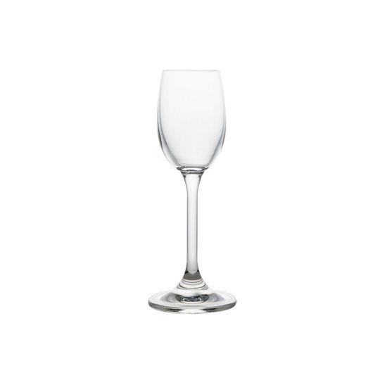 Conjunto com 6 Taças para Licor de Cristal Ecológico Klara 65ml
