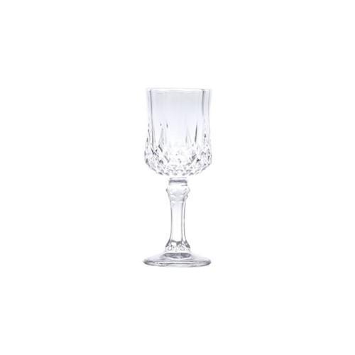 Conjunto com 6 Taças para Licor de Vidro Diamante Transparente 60ml