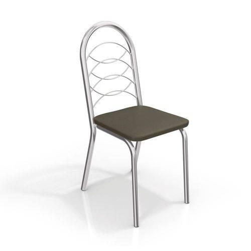 Conjunto com 2 Cadeiras Holanda Cromada 2C009 Kappesberg