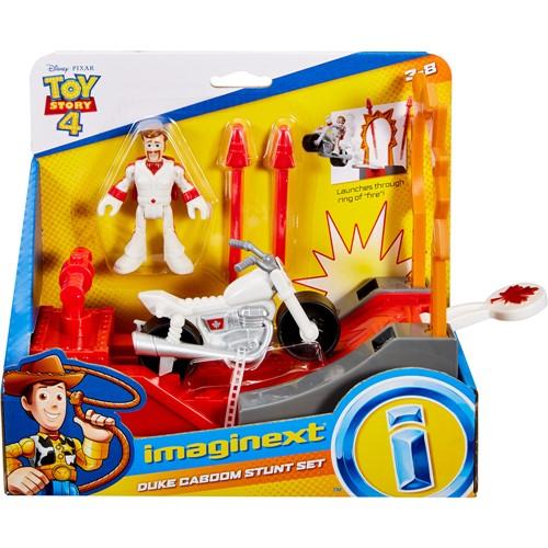 Conjunto com Personagem - Toy Story 4 - Duke Caboom Manobra de Acao