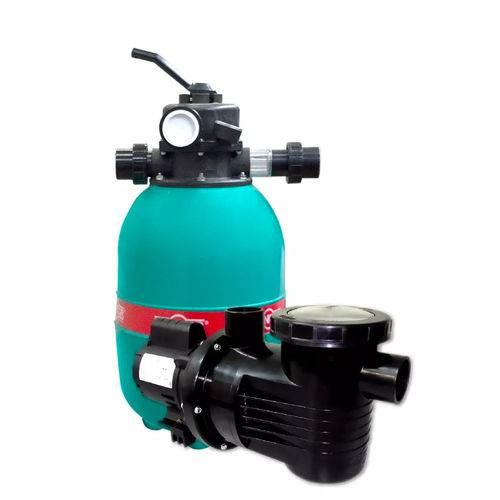 Conjunto Dancor Filtro e Bomba para Piscina Até 17.600 Litros Dfr-11 127/220V Monofásica