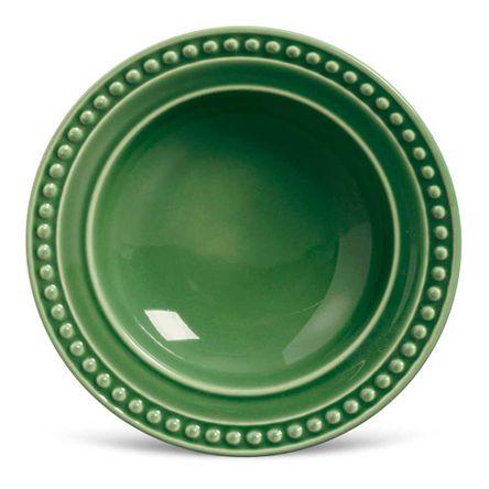 Conjunto de 06 Pratos Fundos Atenas Verde Sálvia