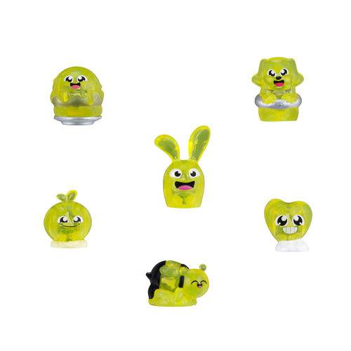 Conjunto de 6 Mini Bonecas - Hanazuki - Humores - Amarelos Felizes - Hasbro