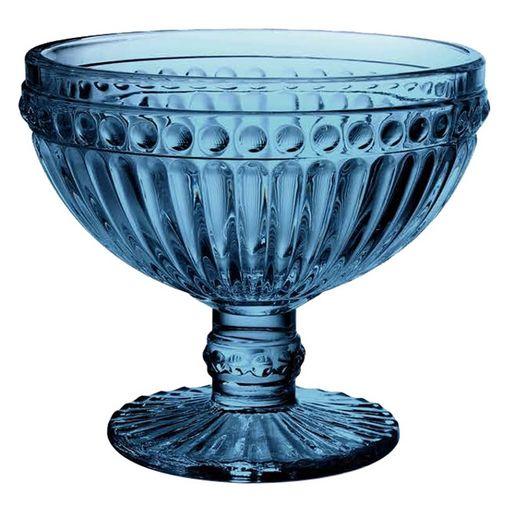 Conjunto de 6 Taças Coupe para Champagne 300ml Azul Empire 6977 Lyor