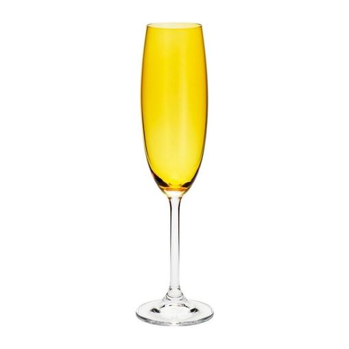 Conjunto de 6 Taças de Cristal para Champagne 220ml Colibri Bohemia