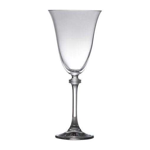 Conjunto de 6 Taças para Água em Vidro 350ml Alexandra Bohemia
