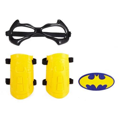 Conjunto de Acessórios - Dc Super Hero Girls - Braceletes e Tiara - Batgirl - Mattel
