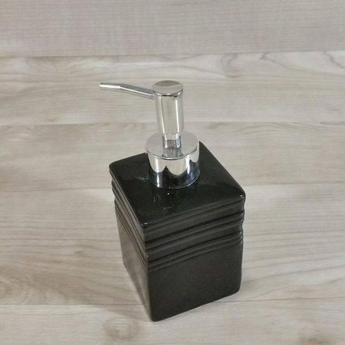 Conjunto de Acessórios para Pia Banheiro ou Lavabo Preto (3 Peças)