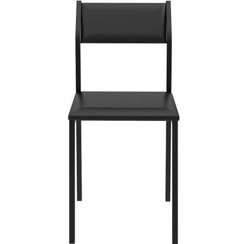 Conjunto de 2 Cadeiras 1709 – Carraro - Preto