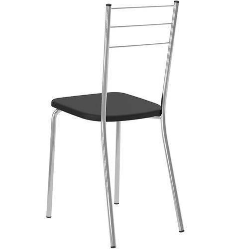 Conjunto de 2 Cadeiras 703 Napa – Carraro - Preto