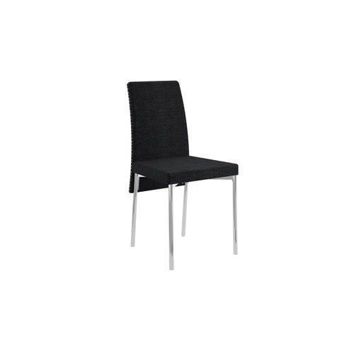Conjunto de 2 Cadeiras Courissimo Listrado Black