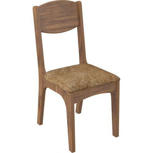 Conjunto de 2 Cadeiras de Assento Estofado Dalla Costa Ca12