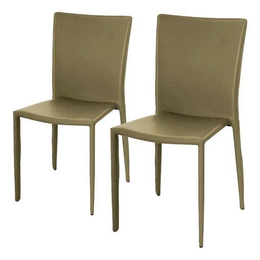 Conjunto de 2 Cadeiras de Jantar Fendi Alba ÓR Design