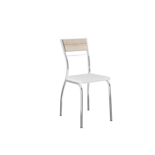 Conjunto de 2 Cadeiras Napa Anis e Cromado