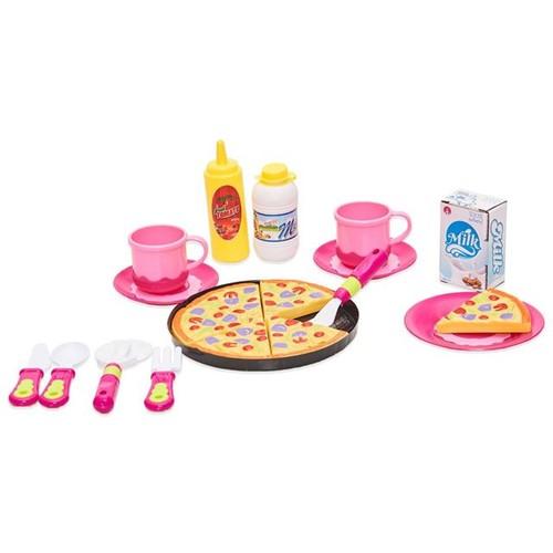 Conjunto de Cha para Meninas Pizza Pizza
