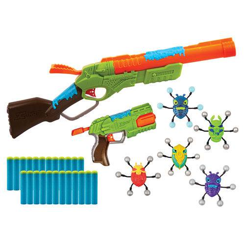 Conjunto de Lançadores de Dardos - X-shot - Bug Attack - Value Pack - Candide