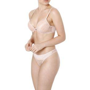 Conjunto de Lingerie Feminino Nude 40