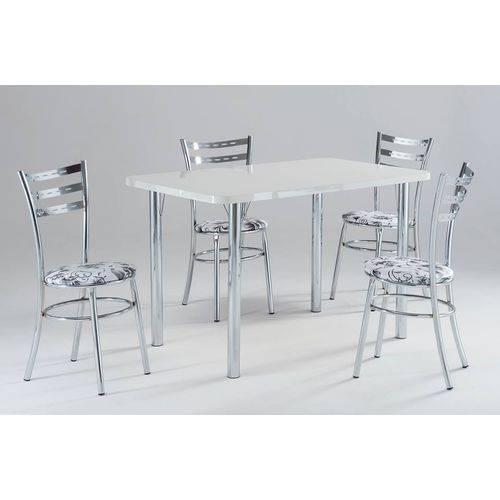 Conjunto de Mesa com 04 Cadeiras - CJ-2500