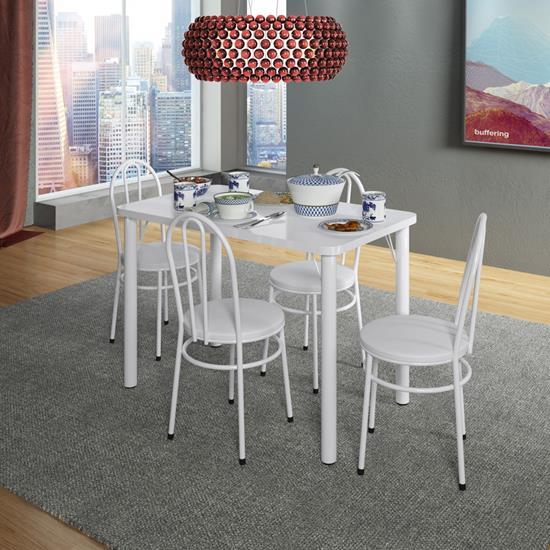 Conjunto de Mesa com 4 Cadeiras 900
