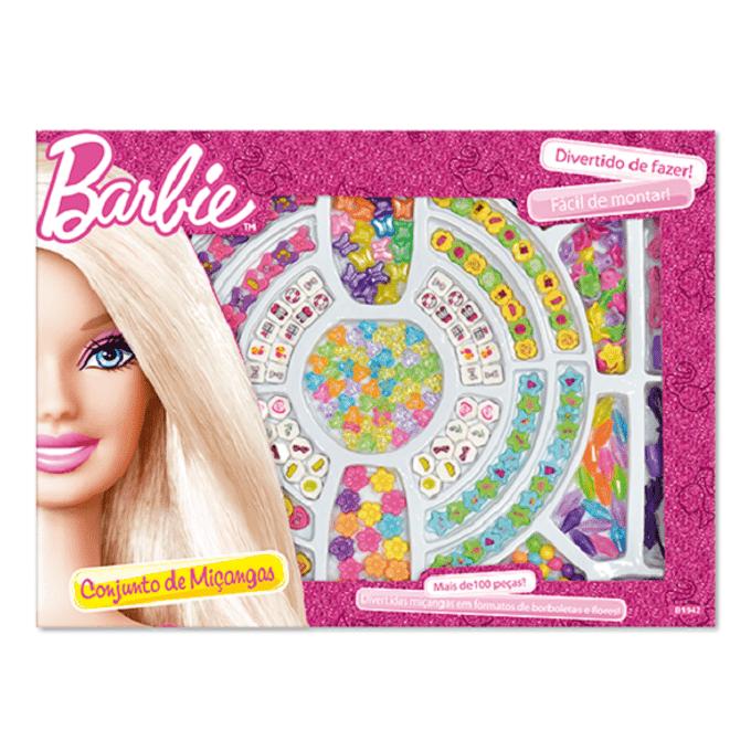 Conjunto de Miçangas Barbie - FUN