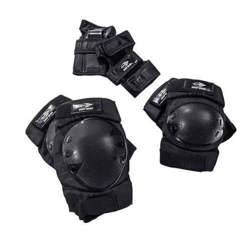 Conjunto de Proteção - Skateboard e Rollers - 3 Peças - Mormaii - P