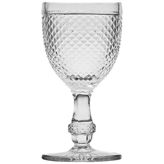 Conjunto de Tacas para Agua Bico de Jaca 6 Pecas Transparente